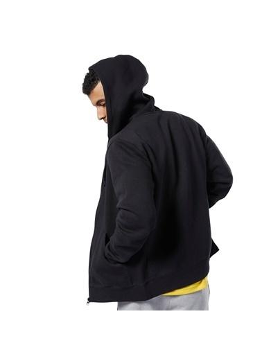 Reebok Cl F Flc Fz Erkek Sweatshirt Siyah